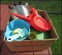 outdoor play dish set