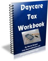 daycare tax workbook