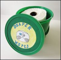 homemade diaper wipes