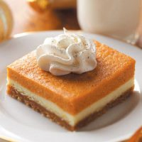 cream cheese pumpkin dessert