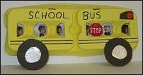egg carton school bus