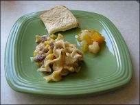 beef and noodle casserole recipe