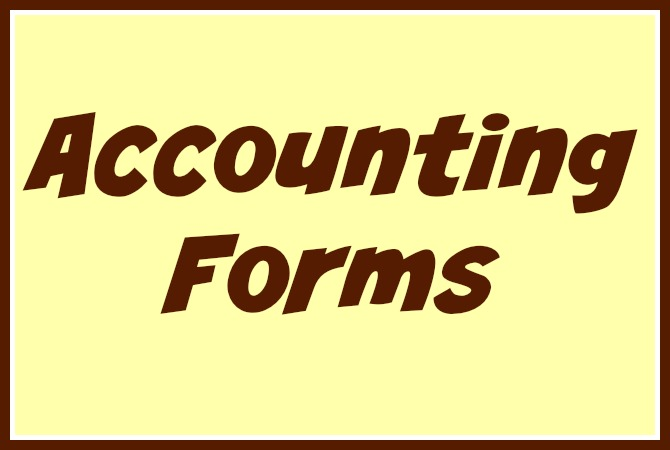 daycare accounting forms