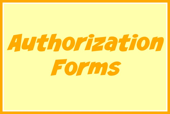 daycare authorization forms