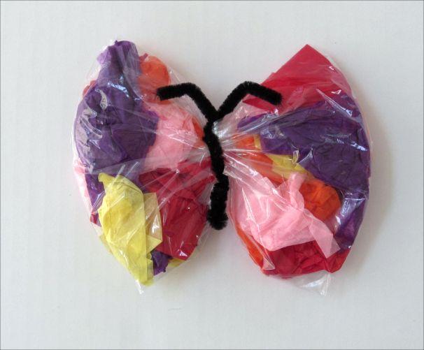 baggie butterfly