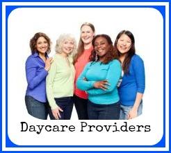 daycare provider button