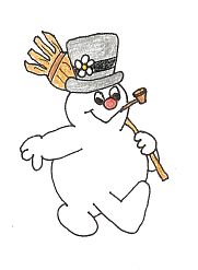 frosty clipart