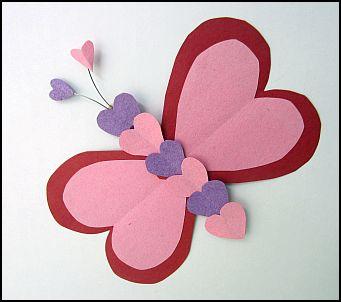 Valentines For Kindergarten Crafts
