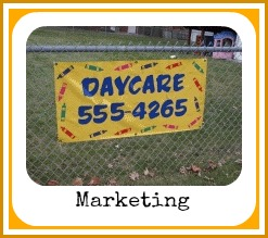 how to advertise my daycare business