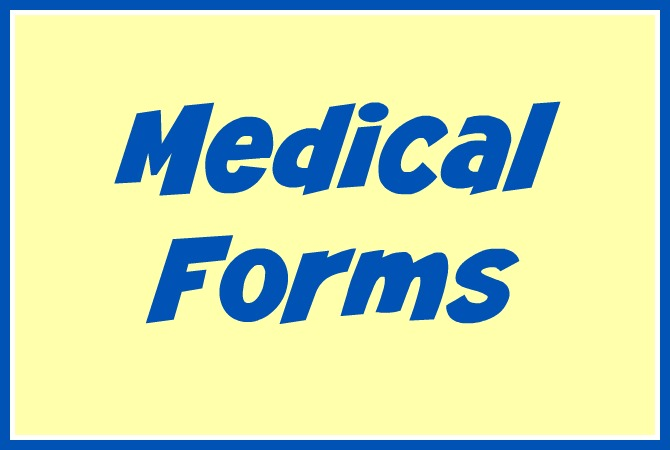 daycare medical forms