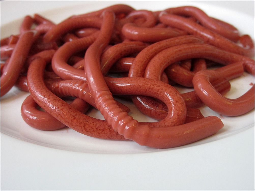 jello worms