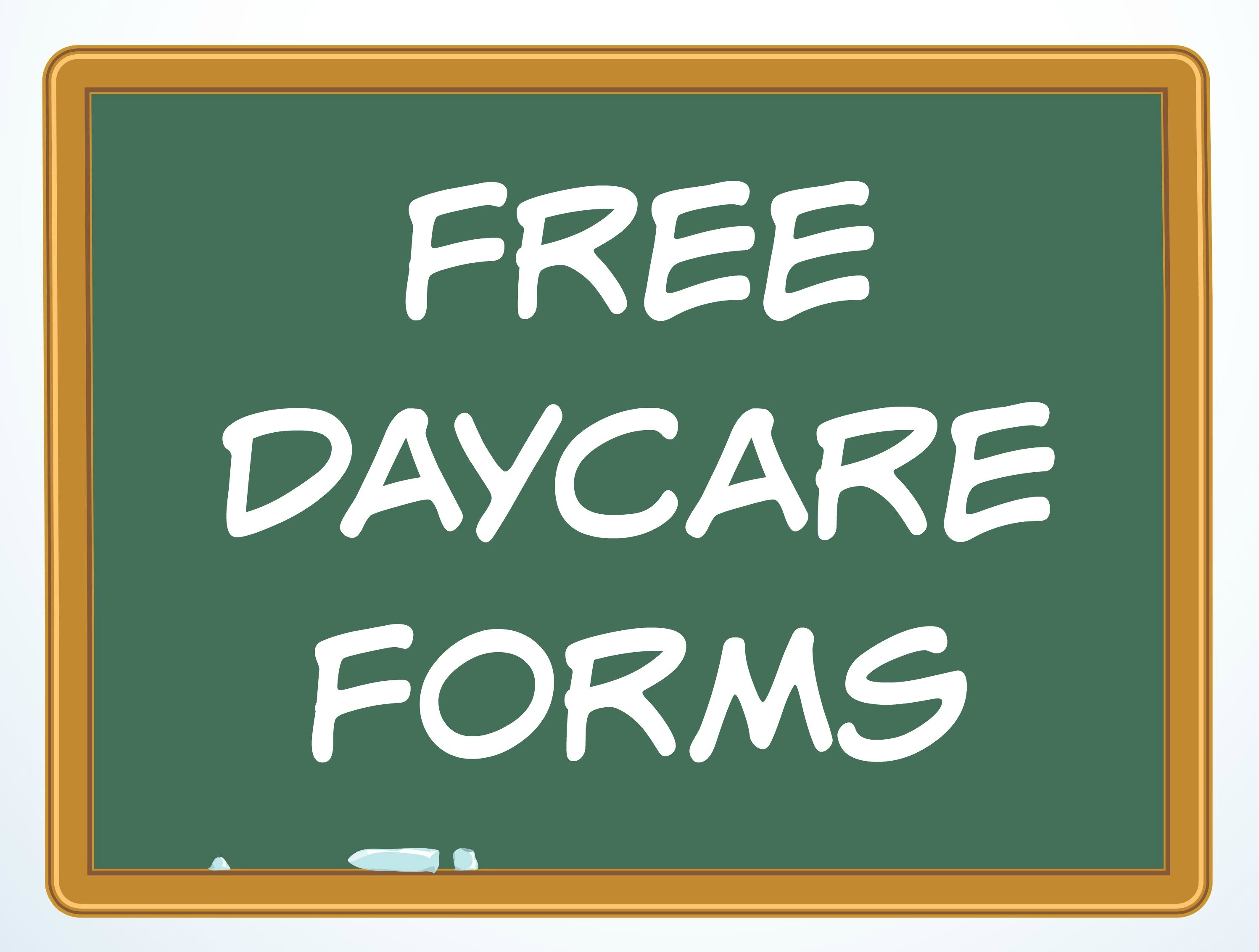free daycare forms and sample documents, Invoice templates