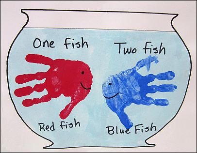 red fish blue fish coloring pages - dr seuss birthday