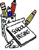 school begins